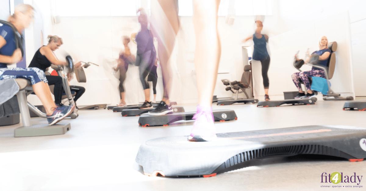vrouwen fitness sportschool voor vrouwen fit4lady